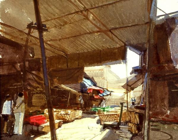 John Newberry, Penang Market, Malaysia