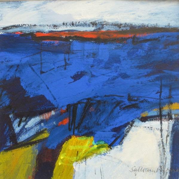 Salliann Putman Moving Through watercolour & gouache 20x20cm