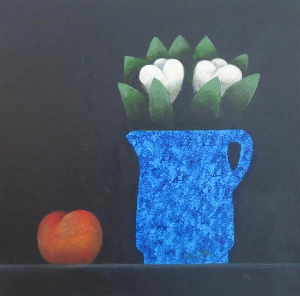 Martin Leman Blue Jug acrylic