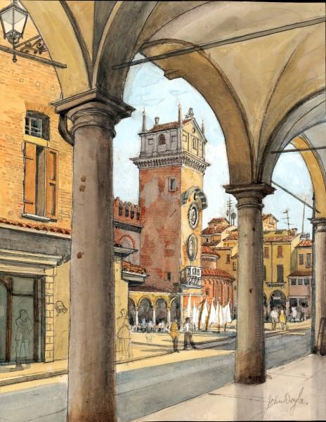 John Doyle, Mantua