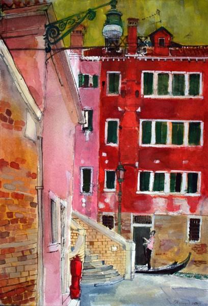 Peter Quinn, Gondolier, San Marco, Venice