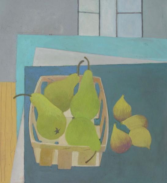 Wendy Jacob Studio Pears gouache