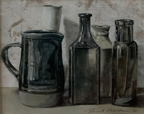 Stuart Robertson, Still Life with Brown Jug