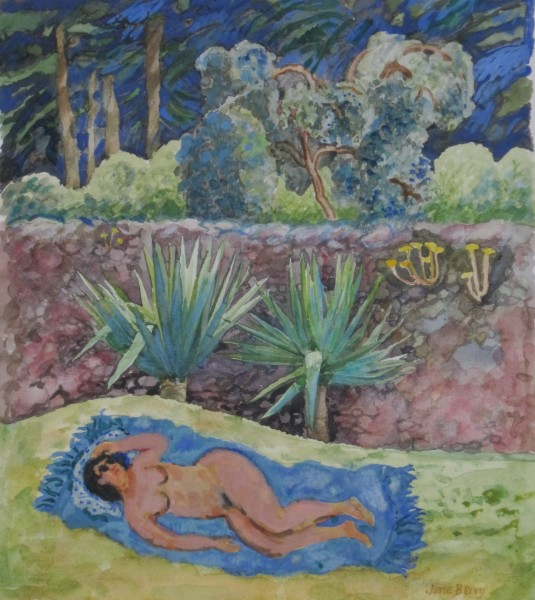 June Berry, Sunbather