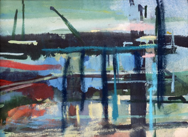 Francis Bowyer Jetty watercolour