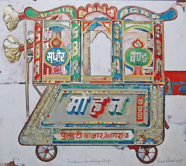 Stuart Robertson, Indian Wedding Cart