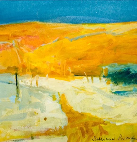 Salliann Putman Warm Light watercolour & gouache Artwork: 20 x 20cm