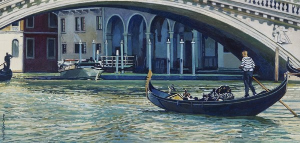 David Paskett, Under the Rialto