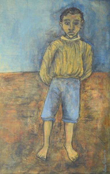 Sula Rubens, Standing Boy Study
