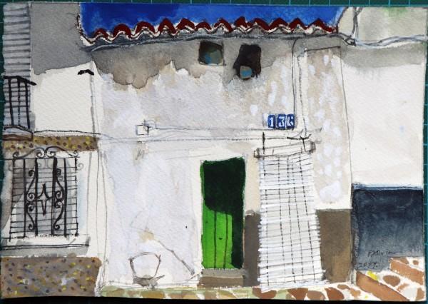 Peter Quinn, Noon, Gaucin, Andalucia, Spain