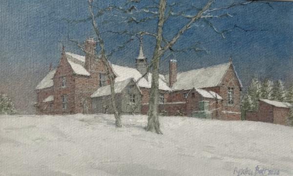 Dennis Roxby Bott, School House and the Old School, Bucks Green