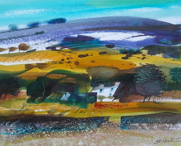 Sue Howells, Snow on the Mountain, Brecon