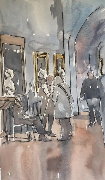 Thomas Plunkett, National Portrait Gallery Interior IV