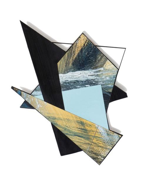 Lisa Traxler Assemblage 1 acrylic Frame: 30 x 25 cm Artwork: 30 x 25 cm