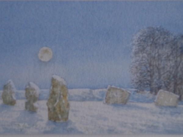 David Payne, Moon and Snow Avebury