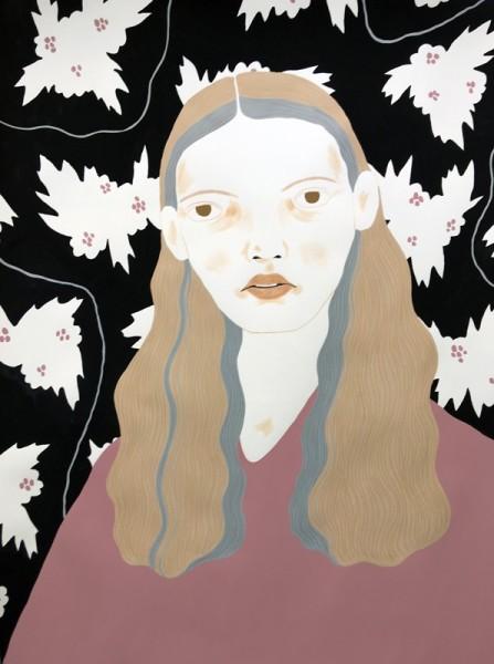Alessandra Genualdo Shadowplay I gouache & coloured pencil Frame: 53 x 73 cm