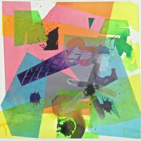 Geoffrey Pimlott It's a bit like Ice Cream watercolour