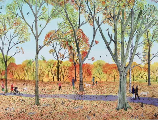 Emma Haworth, Autumn Woods