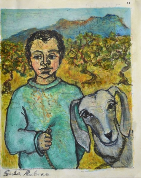 Sula Rubens, Boy with Goat
