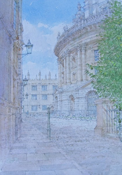 Dennis Roxby Bott, Radcliffe Square, Oxford