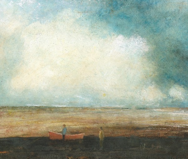 David Brayne Ground and Water pigment & acrylic 41 x 46cm
