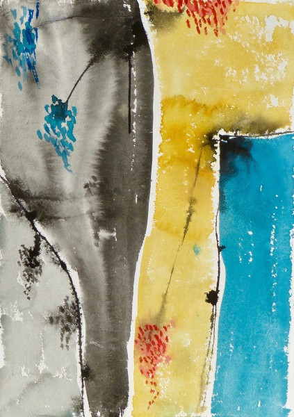 Anne Lynch, Grey, Yellow, Blue