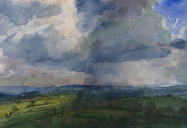 Richard Pikesley, Rain Passing, Pilsdon Pen