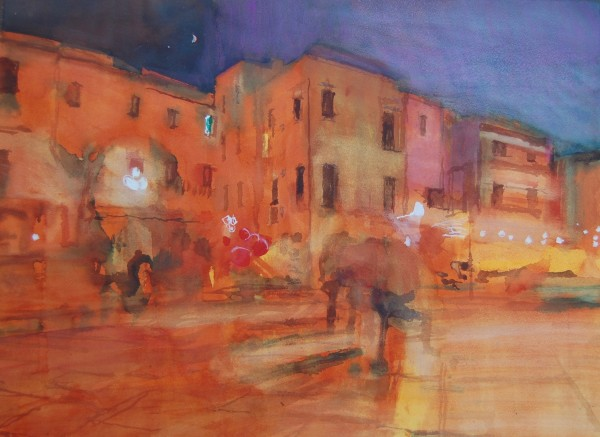 Simon Pierse, One Evening in Trani
