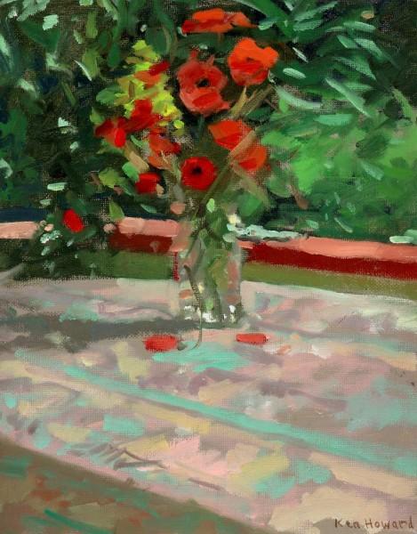 Ken Howard RA, Wild Flowers