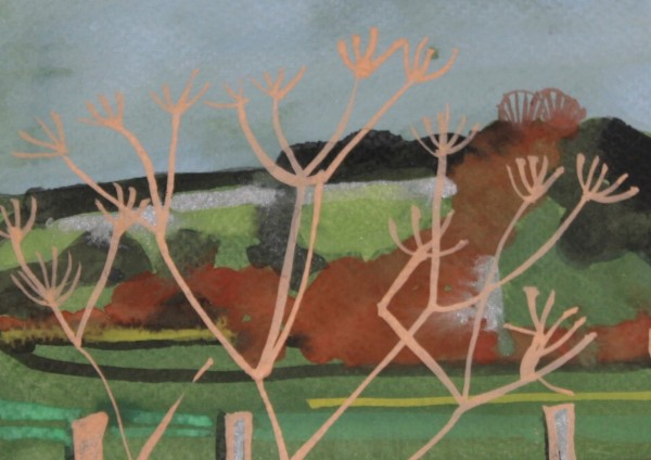 Chloe Fremantle, Northumbrian Cow Parsley View