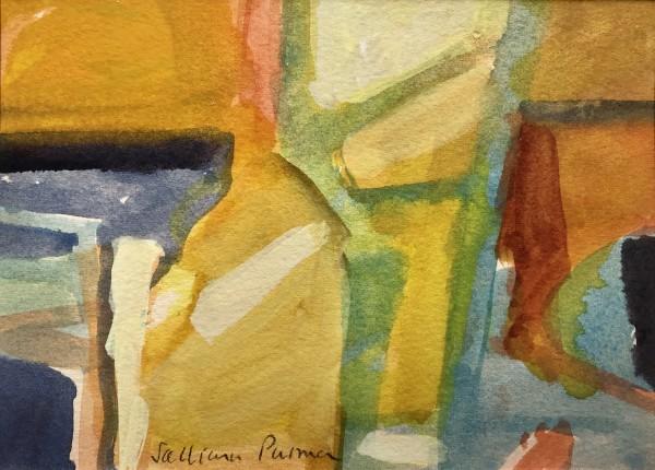Salliann Putman On the Beach watercolour Frame: 28 x 33 cm Artwork: 13 x 18 cm