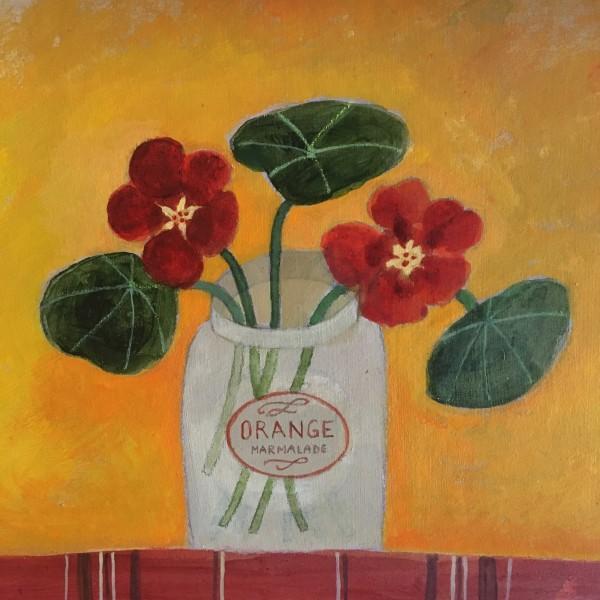 Jill Leman, Autumn Nasturtiums