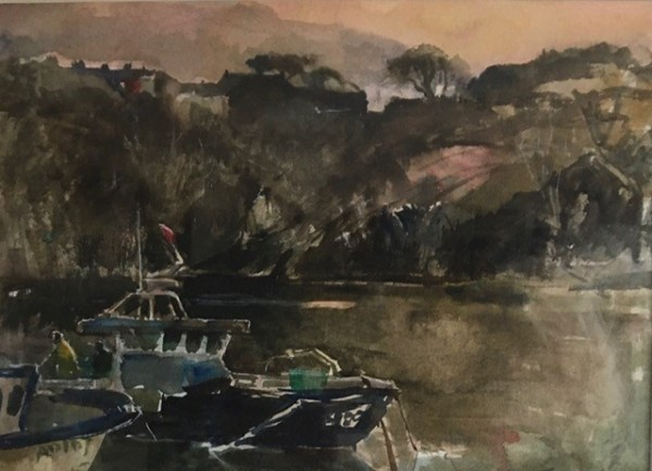Jane Corsellis, Lobster Boats, Pembrokeshire