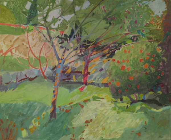 Annie Williams, Garden at the Chateau in Nice