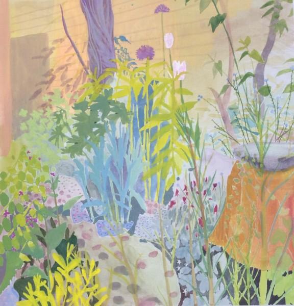 Suzy Fasht, Garden Bed