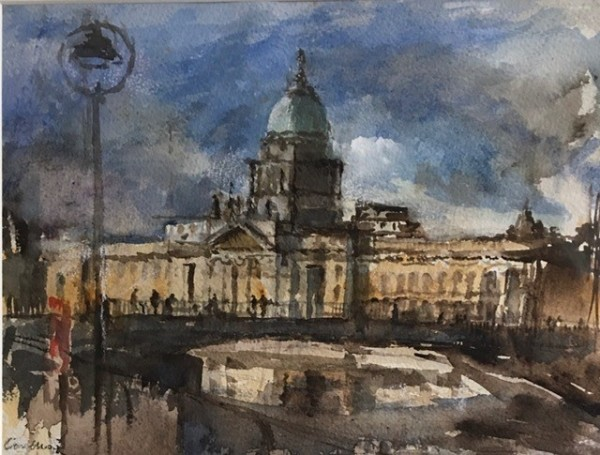 Jane Corsellis, Bridge over the Liffey, Dublin
