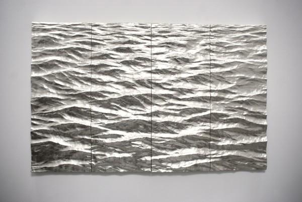 Seascape 1, (4 panel), 2018