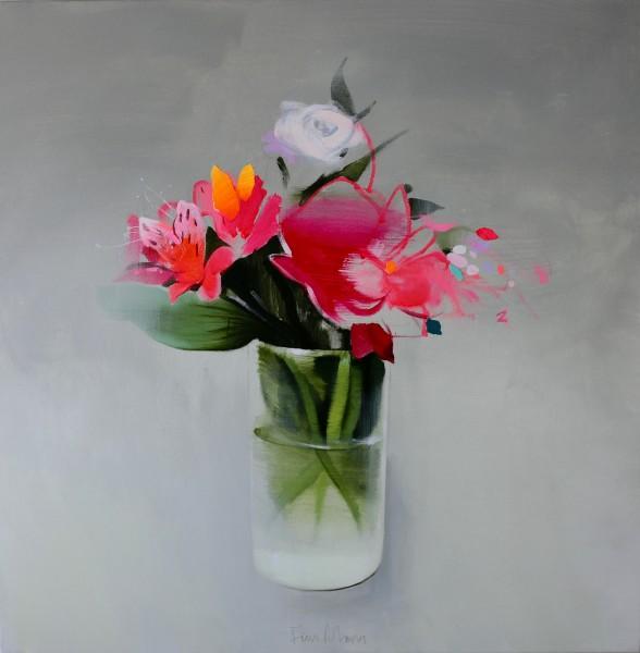 Fran Mora, Flowers, 2016