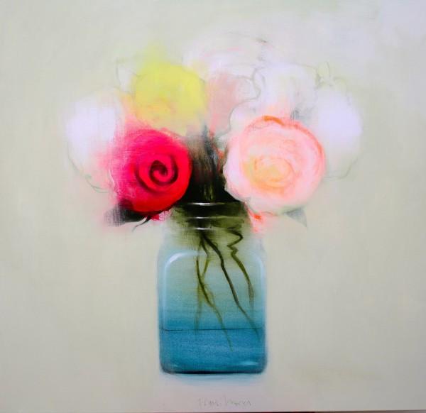 Fran Mora, Flowers II, 2016