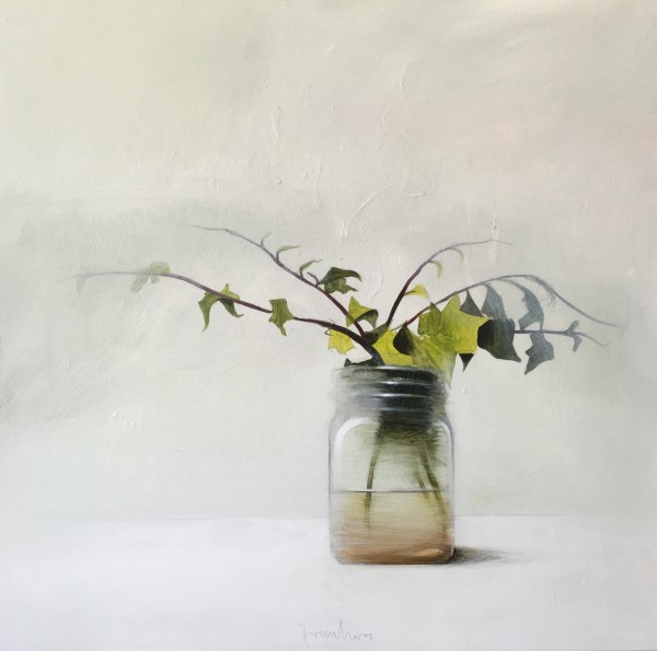 Fran Mora, Jar with Ivy, 2016