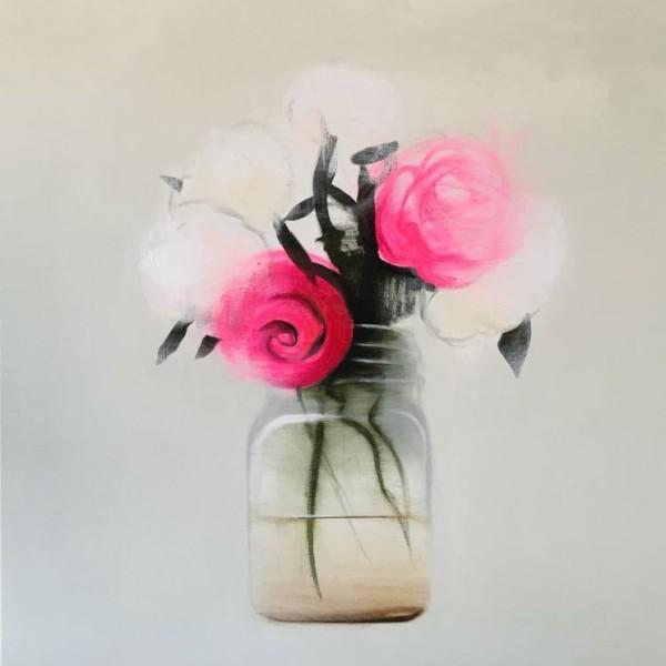 Fran Mora, Flores Blancas, 2016