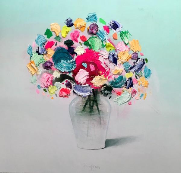 Fran Mora, Summer Flowers, 2019