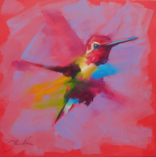 Jamel Akib, Small Hummingbird - Pink, 2020