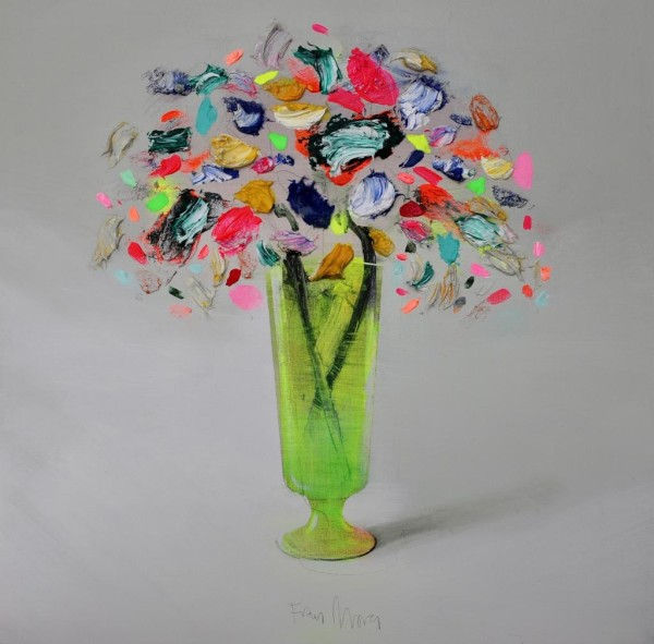 Fran Mora, Copa Verde (Green Vase), 2020