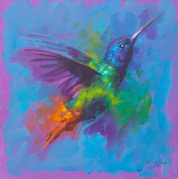 Jamel Akib, Humming Bird 7, 2019