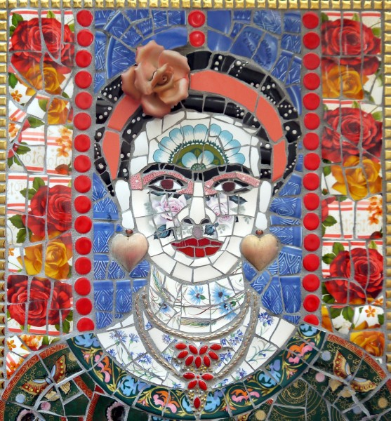 Susan Elliott, Frida with Butterflies, 2019