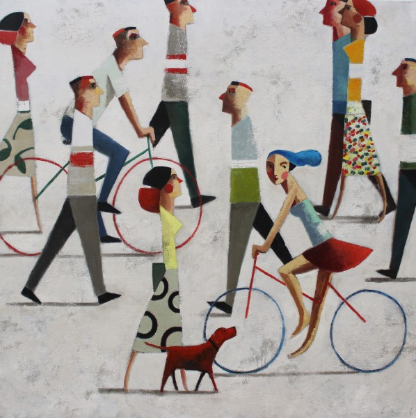 Didier Lourenço, I Want a Bike, 2019