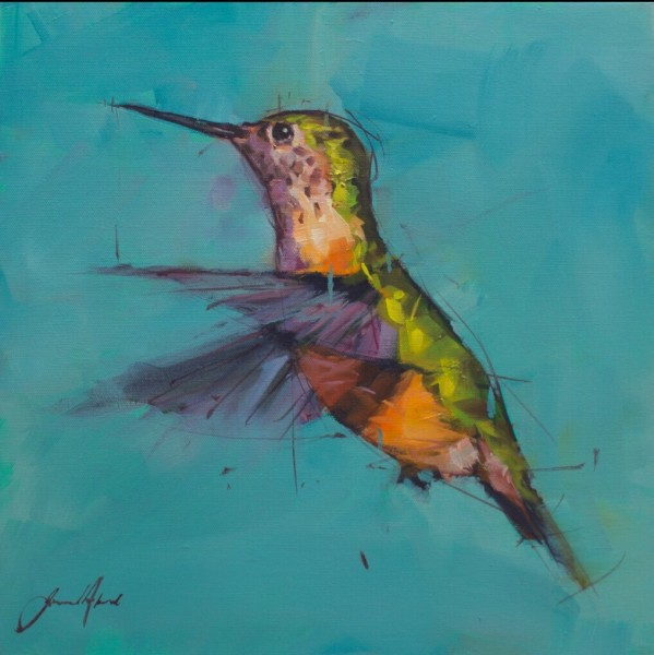 Jamel Akib, Hummingbird No.1, 2018