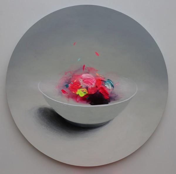 Fran Mora, Bowl (Tondo), 2019