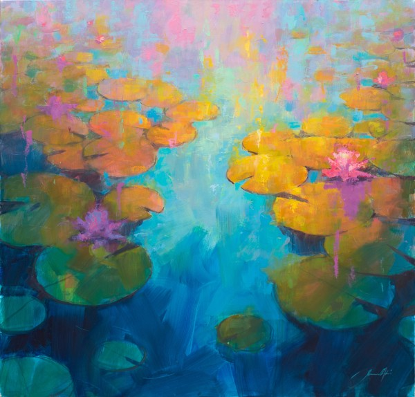 Jamel Akib, Waterlilies IV, 2019